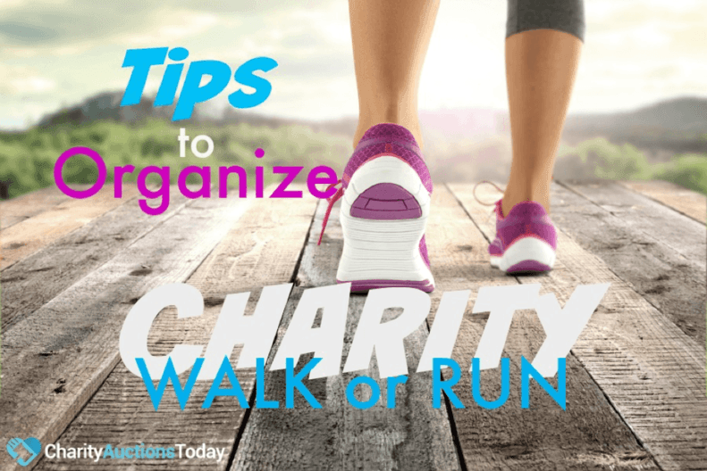 5 Helpful Tips to Organize a Charity Walk or Run