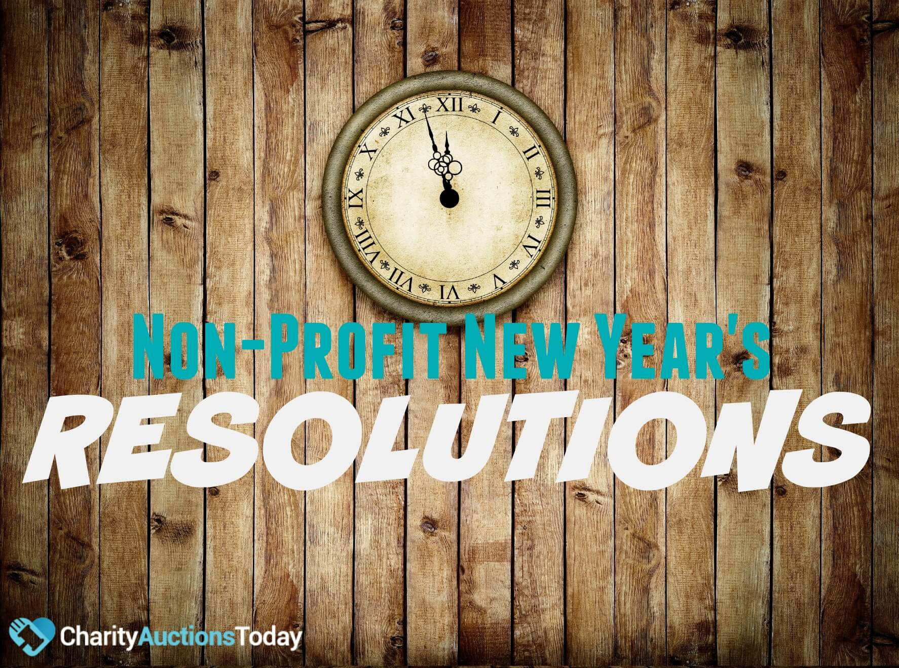 Nonprofit New Years Resolutions