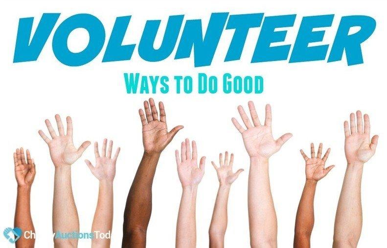 Ways to Volunteer Do Good