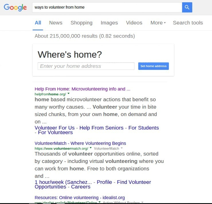 Ways to volunteer from home online
