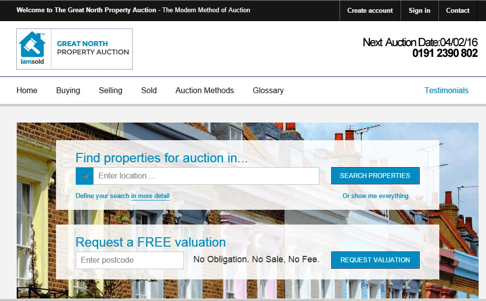 Online-auctions-Great-North-Property-Auction-website