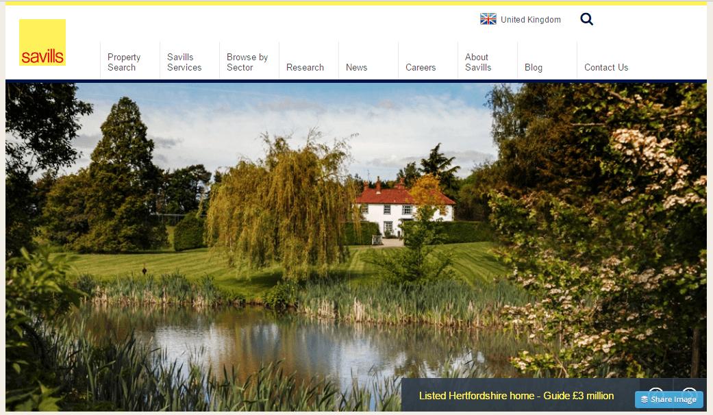 Savills Homepage