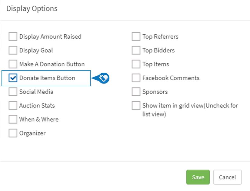 Add remove Donate Items button5 1