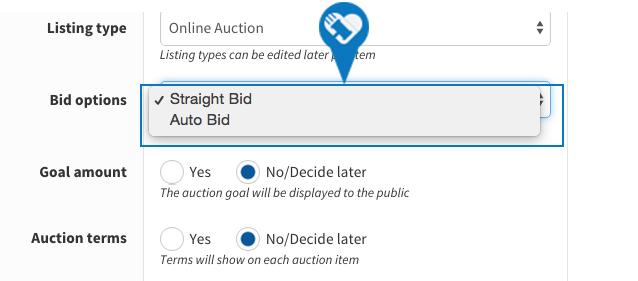 Change or update my bidding options4