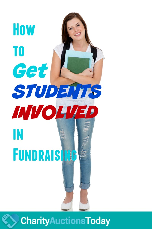 how to get students involved fundraisers
