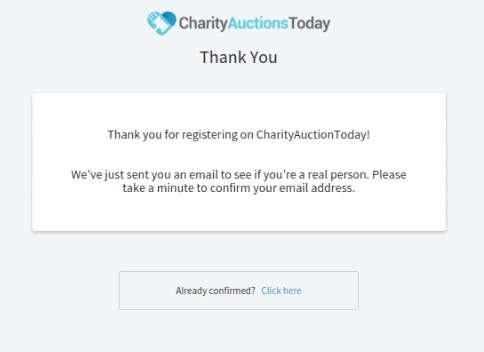 charity thank you