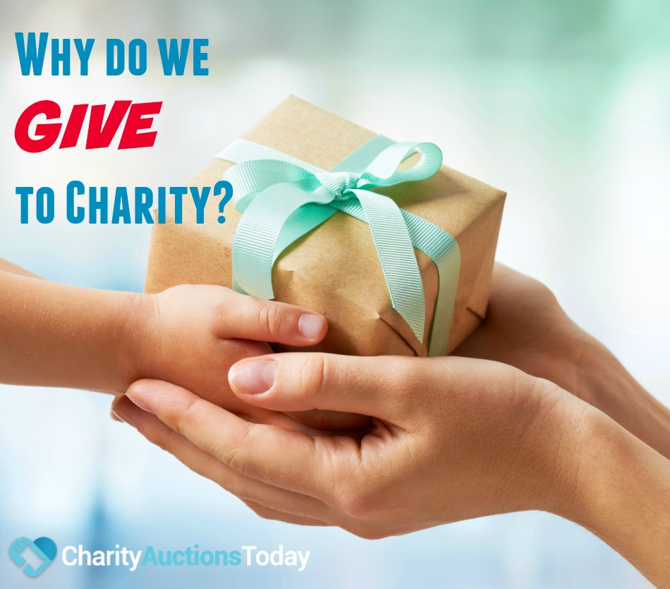 Why do We Give to Charity?