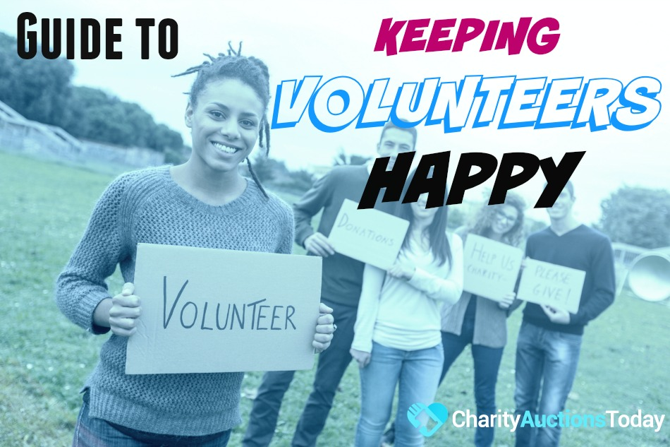 guide to keeping volunteers happy