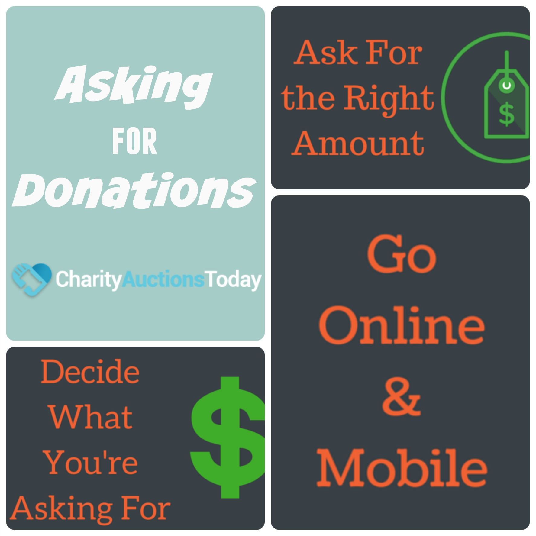Asking For Donations  Best Practices  Charity Auctions Today