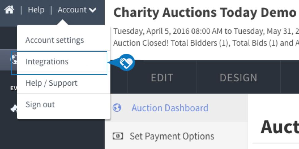 Kindful CharityAuctionsToday Integration4