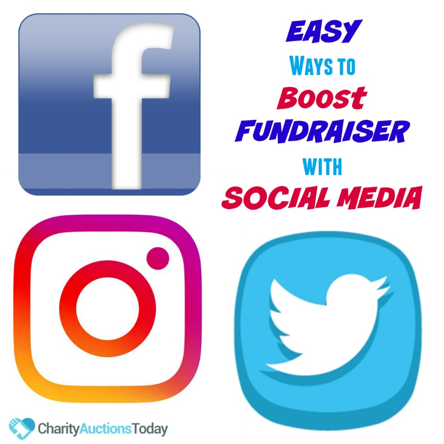 Easy Ways to use Social Media to Boost Your Fundraiser