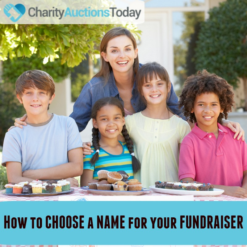 How to Name your Fundraiser