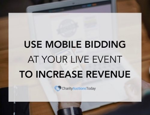 Mobile Bidding at Live Event to Increase Revenue