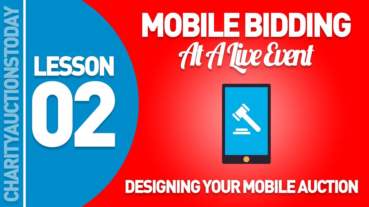 Designing Your Mobile Auction