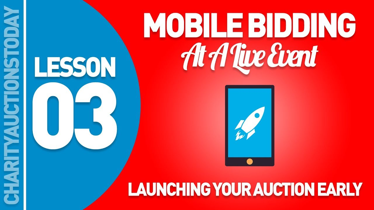 Launching Your Auction Early