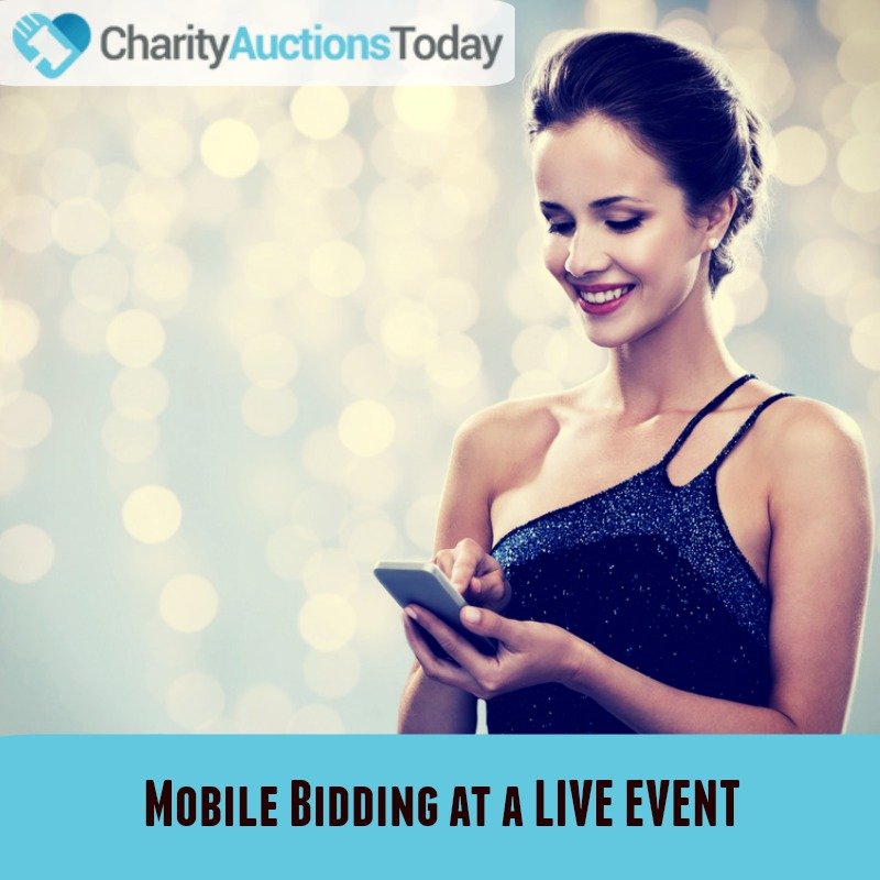 Use Mobile Bidding at a Live Event to Increase Revenue