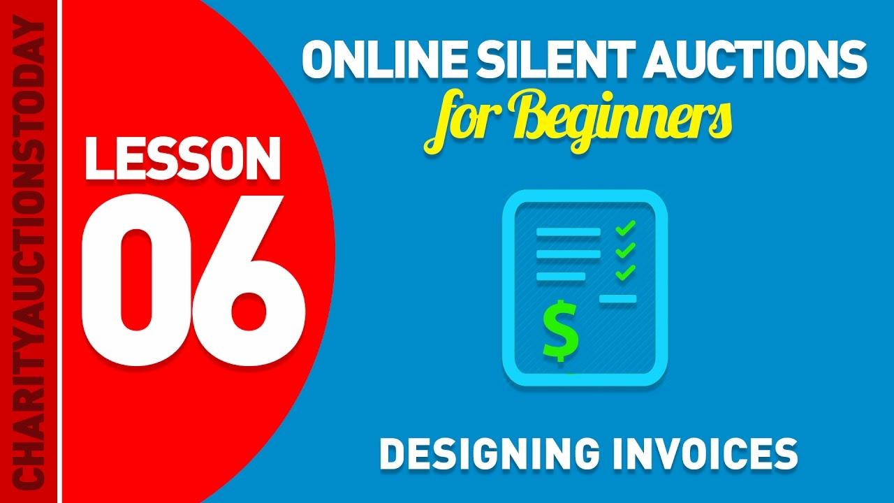 Designing Invoices