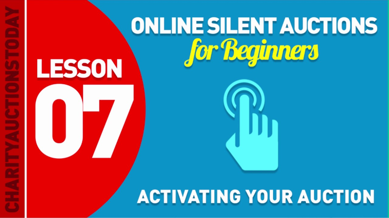 Activating Your Auction