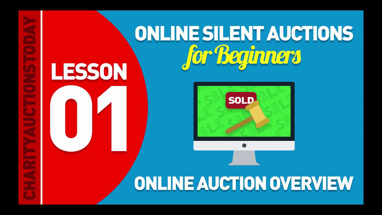 Online Silent Auctions Tutorial – Get Up and Running Today
