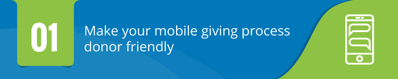 Boost your mobile giving potential