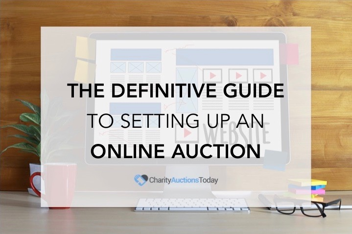 Definitive Guide to setting up an online auction