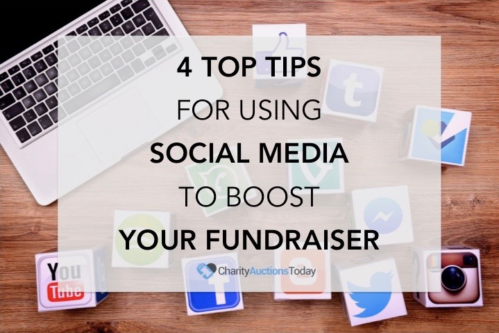 Social Media tips to boost Fundraiser