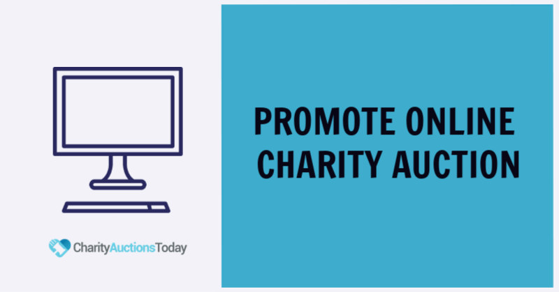 Promote Online Charity Auction