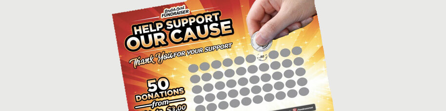 Scratch Cards donation