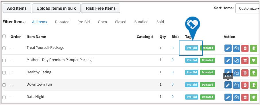 Activate Pre Bidding and Generate Bid andor Display Sheets4