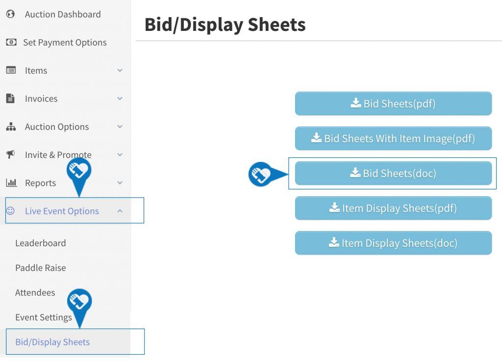 Activate Pre Bidding and Generate Bid andor Display Sheets5 1