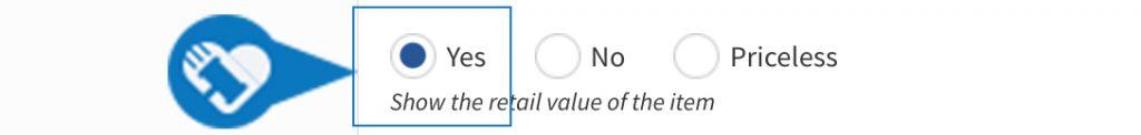 Add my items value5