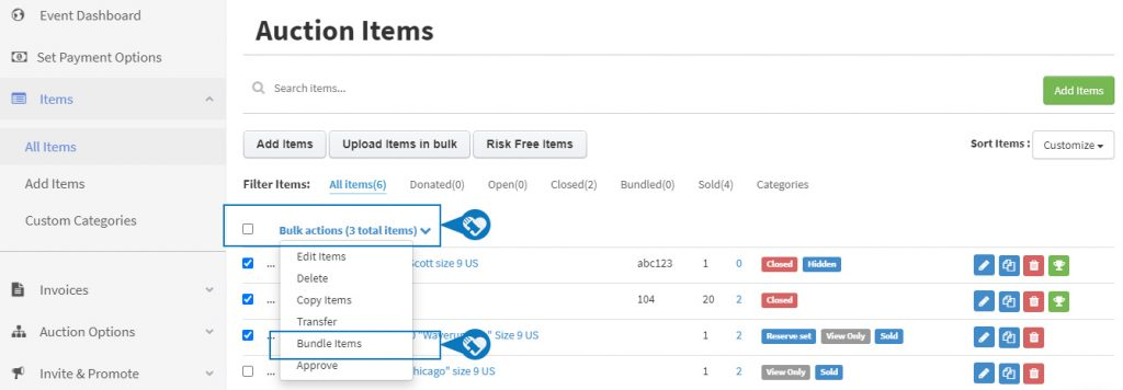 Bundle Multiple Items to Create One item