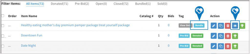 Bundle Multiple Items to Create One item2