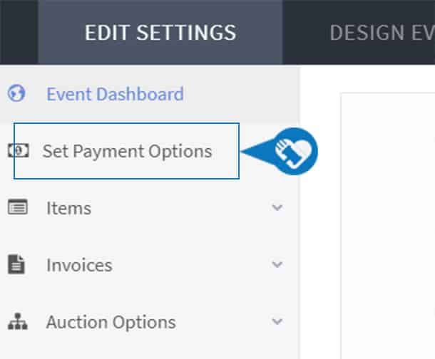 Connect a payment processor to my auction4