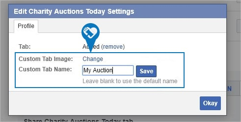 How to add my auction to a Facebook Page10