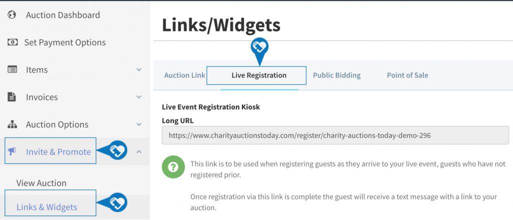 Live Mobile Auction Registration Kiosk Setup3