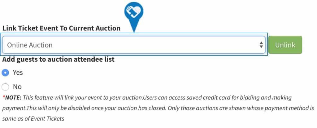 Purchasing Event Tickets and Registering for Auction3