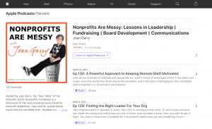 fundraising-ideas-best-fundraising-podcasts-nonprofits-are-messy-with-joan-garry