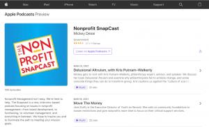 best-fundraising-ideas-podcast-nonprofit-snapcast